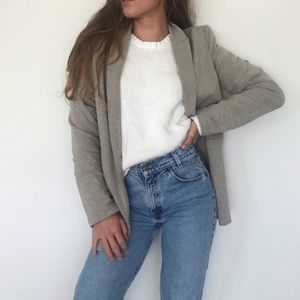 [Mossimo] beige blazer